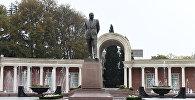 Президент Ильхам Алиев прибыл в город Гянджа