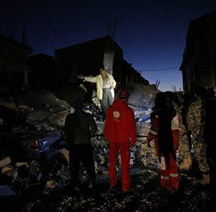 Последствия землетрясения в Иране и Ираке