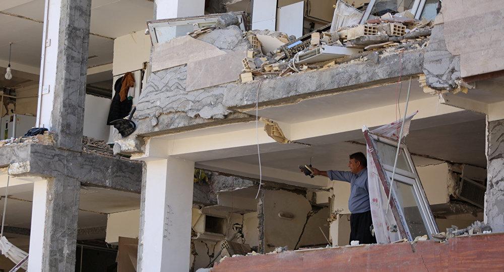 Последствия землетрясения в Иране, 13 ноября 2017 года