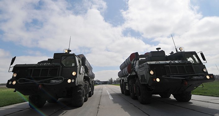 Зенитные ракетные комплексы C-400, фото из архива