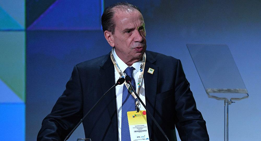 Министр иностранных дел Бразилии Алоизио Нюнес Феррейр