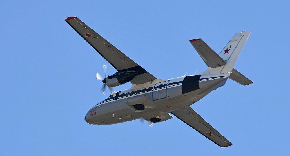 Самолет L-410 , фото из архива