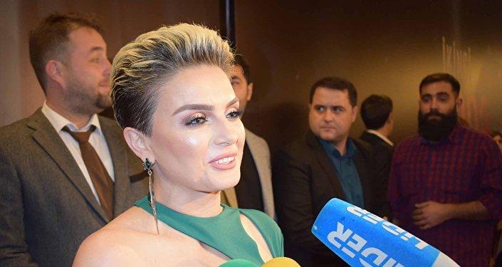 Актриса Гюнай Ахмед