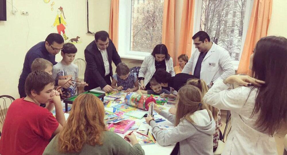 Акция Дня борьбы с диабетом в московском университете