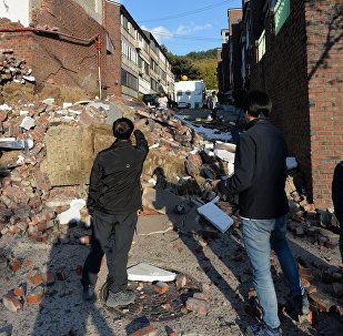 Последствия землетрясения в Южной Корее, 15 ноября 2017 года