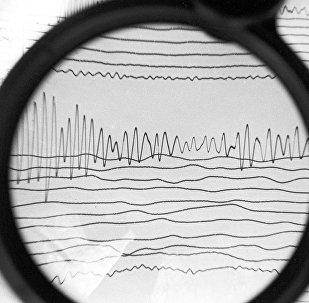 Сейсмограмма, фото из архива