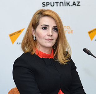 руководитель общественной организации Институт молодых демократов Егяна Гаджиева