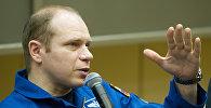 Российский член экипажа ТПК Союз ТМА-10М Олег Котов