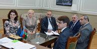 Делегация Белгородского государственного национального исследовательского университета Российской Федерации находится с визитом в UNEC