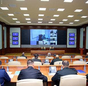 Проведено служебное совещание с руководящим составом, привлеченным к командно-штабным военным играм