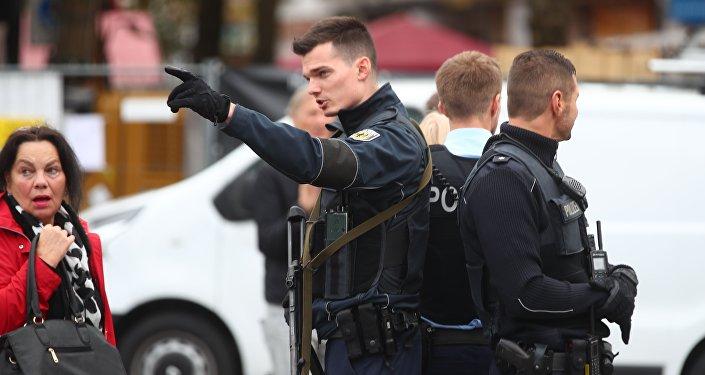 Полиция Германии, фото из архива