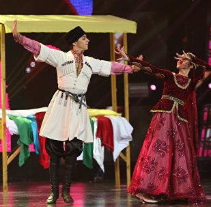 Народный танец Джанги на сцене Ты супер! Танцы