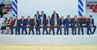 Торжественное мероприятие по случаю открытия после ремонта спортивного дворца Азербайджанского технического университета