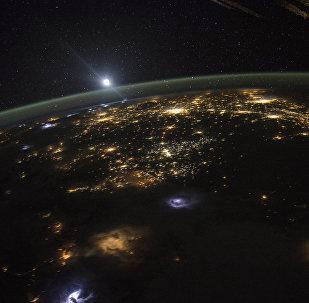 Вид Земли из космоса, фото из архива