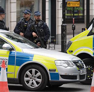 Сотрудники полиции в Лондоне, фото из архива