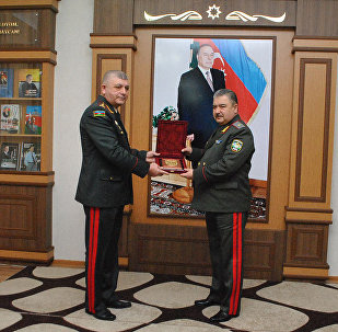 Министр обороны Узбекистана посетил Военную Академию Вооруженных сил Азербайджана