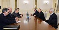 Президент Ильхам Алиев принял делегацию, возглавляемую министром иностранных дел России
