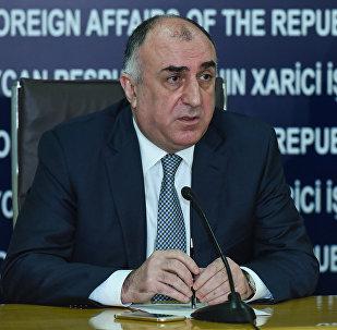 Министр иностранных дел АР Эльмар Мамедъяров, фото из архива