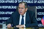 Министр иностранных дел России Сергей Лавров, фото из архива