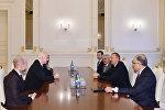 Президент Азербайджана Ильхам Алиев принял президента ФИФА Джанни Инфантино и генерального секретаря федерации Фатму Самура