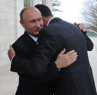 Putin və Əsəd