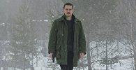 Майкл Фассбендер в фильме Снеговик