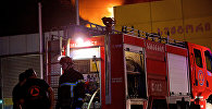 Пожарные в Тбилиси, фото из архива