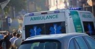 Машина скорой помощи в Тбилиси, фото из архива
