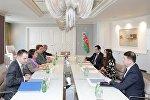 Лейла Алиева встретилась с региональным директором ЮНИСЕФ