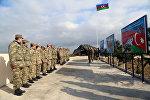 Открытие нового жилого комплекса подразделения противовоздушной обороны ВВС Азербайджана