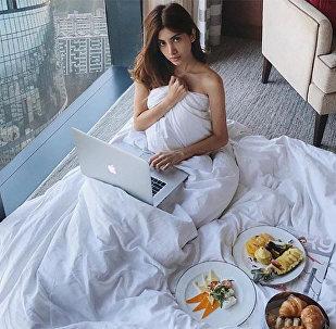 Азербайджанский модный блоггер Руслана Джавадова