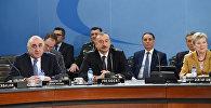 Ильхам Алиев принял участие в заседании Северо-Атлантического Совета НАТО