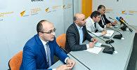 Саммит Восточного партнерства и европейские перспективы Азербайджана - обсуждения в пресс-центре Sputnik Азербайджан