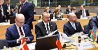 İlham Əliyev Brüsseldə Avropa İttifaqının Şərq Tərəfdaşlığı Sammitində iştirak edib