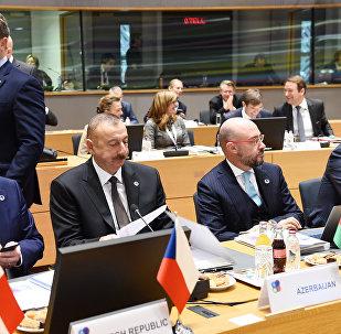 Президент Ильхам Алиев принял участие в саммите Восточного партнерства Европейского Союза в Брюсселе