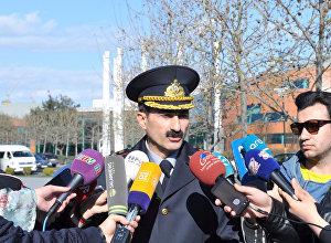 Baş Dövlət Yol Polis İdarəsinin ictimaiyyətlə əlaqələr şöbəsinin rəisi Kamran Əliyev