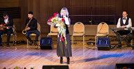 Народная артистка Азербайджана Бриллиант Дадашева выступила на фестивале национальных культур Мосты дружбы в Московском международном доме музыки