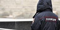 Сотрудник российской полиции, фото из архива