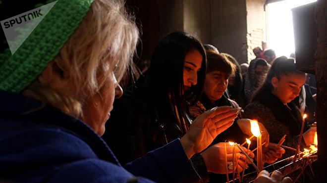 В празднике, наряду с азербайджанцами, участвуют ингилойцы и грузины