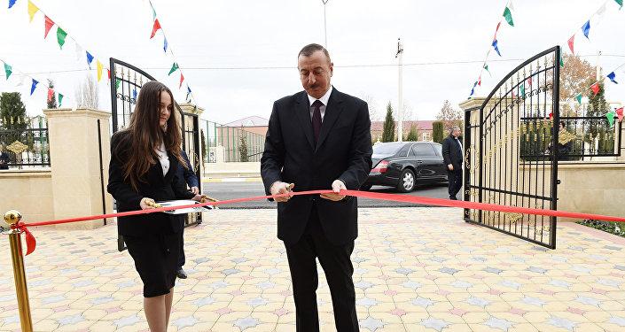 Состоялось открытие яслей-детского сада, построенного по инициативе Фонда Гейдара Алиева в Агджабеди