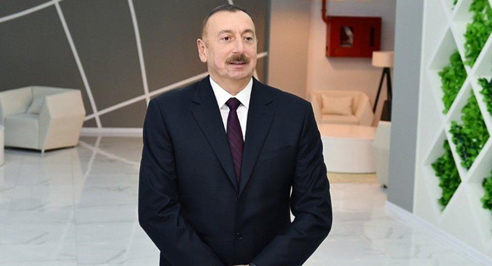 Prezident İlham Əliyev, arxiv şəkli