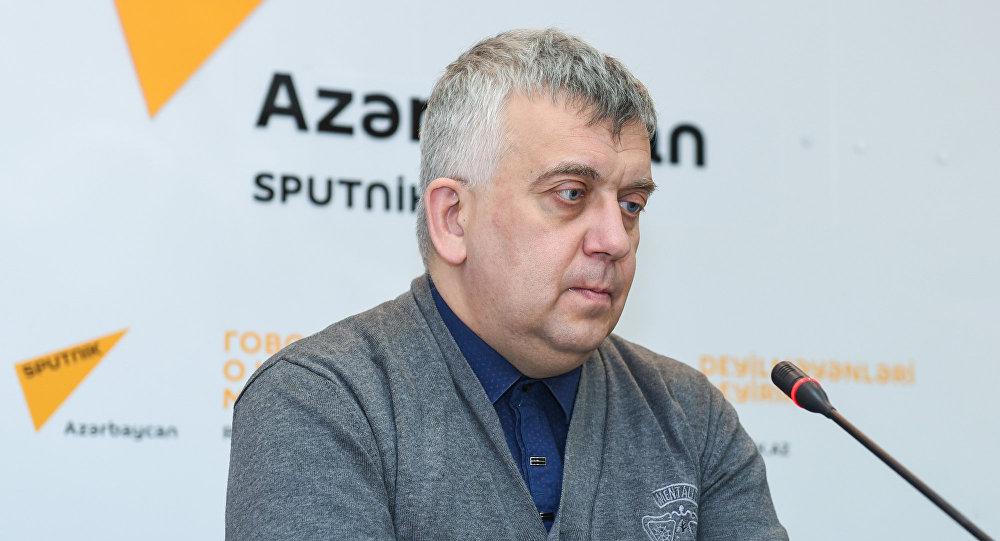 Российский политолог Олег Кузнецов