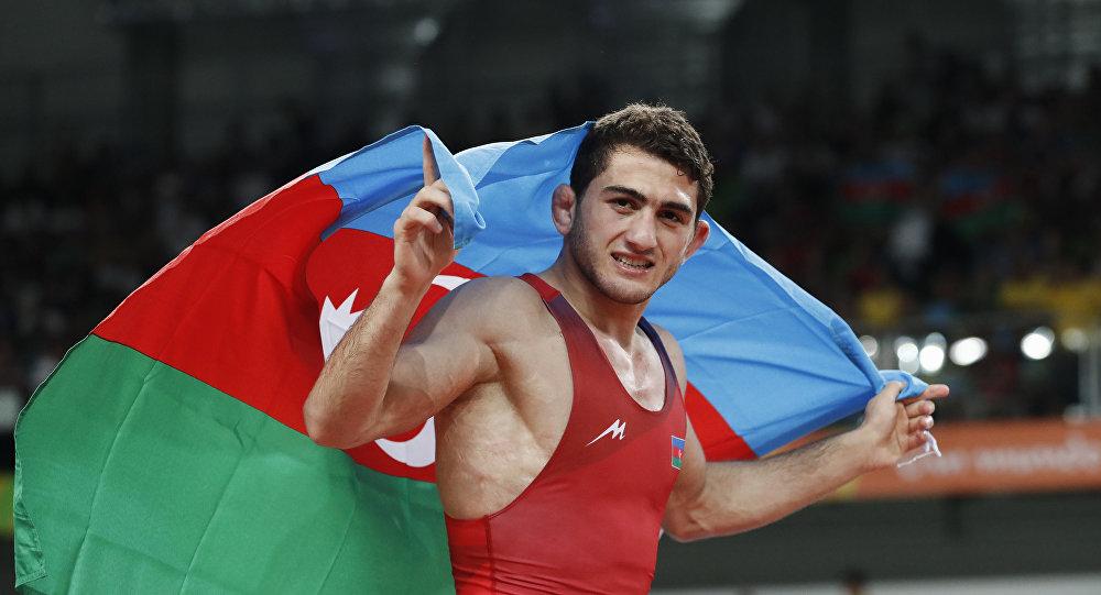 Güləşçi Hacı Əliyev