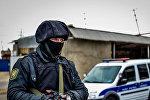 Полицейский в Нардаране, фото из архива