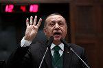 Президент Турции Реджеп Тайип Эрдоган, фото из архива