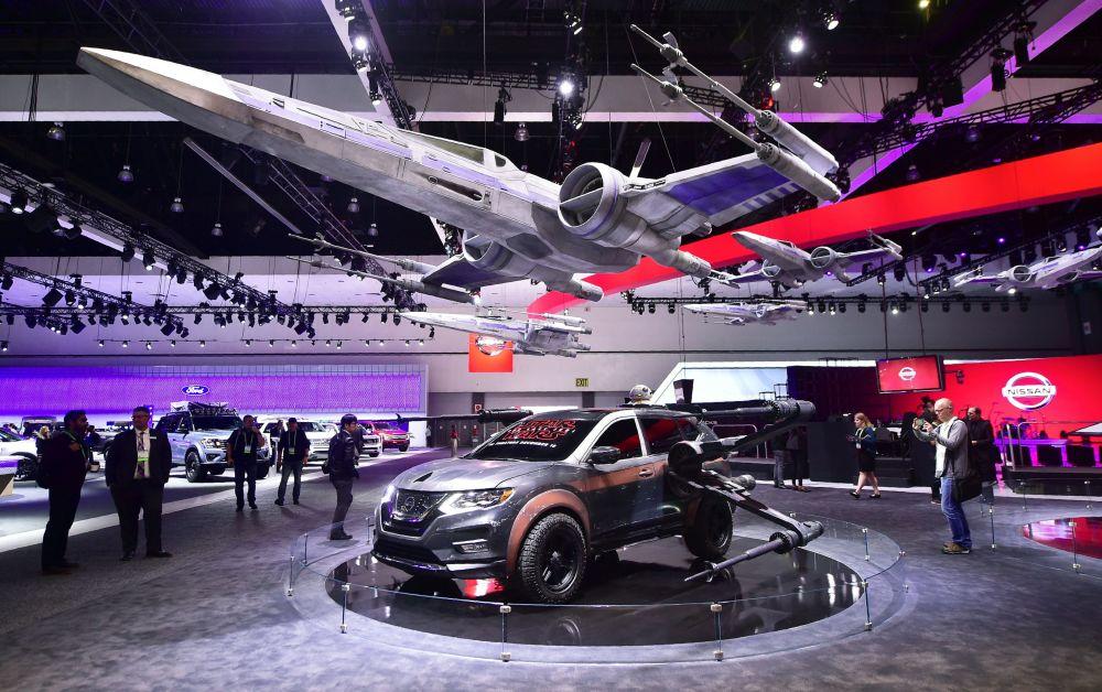 Автосалон LA Motor Show 2017 в Лос-Анжелесе