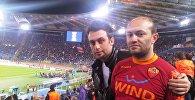 Лицензированный агент ФИФА в Азербайджане Камиль Мамедов (справа)