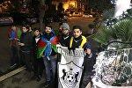 Qarabağ azarkeşləri Romada, 3 dekabr 2017-ci il