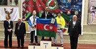 Следователь Бинагадинского РУП Эльдар Абдуллаев занял первое место по джиу-джитсу
