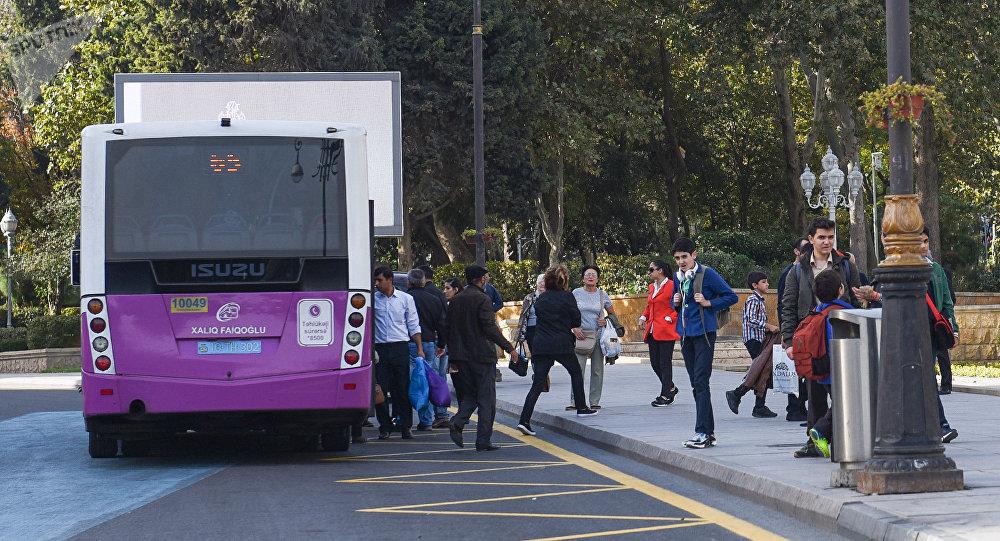 Автобус, фото из архива